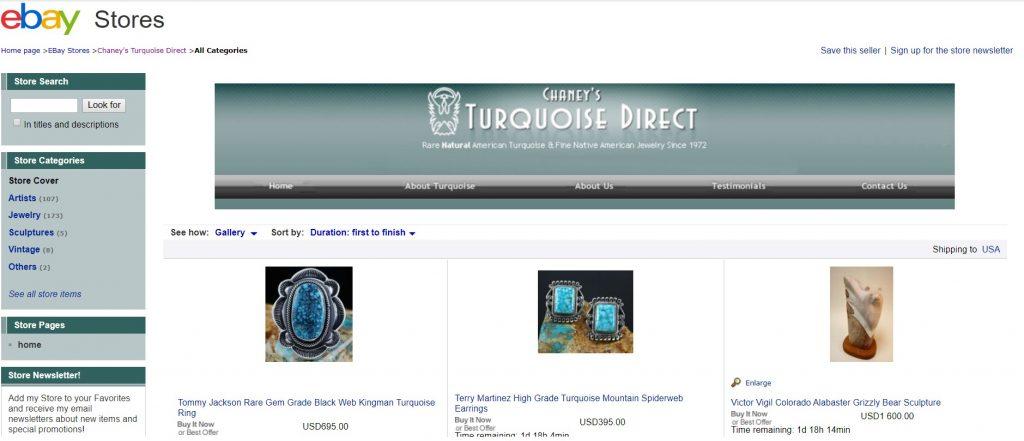 Ebay Store Turquoise Direct Kjerstan Designs